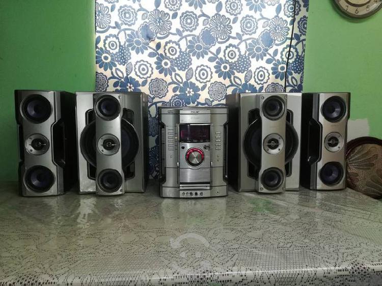 Mini componente sony genezi hi-fi para auxiliar...