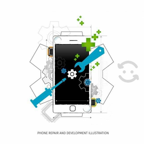 Servicio tecnico especializado en celulares.