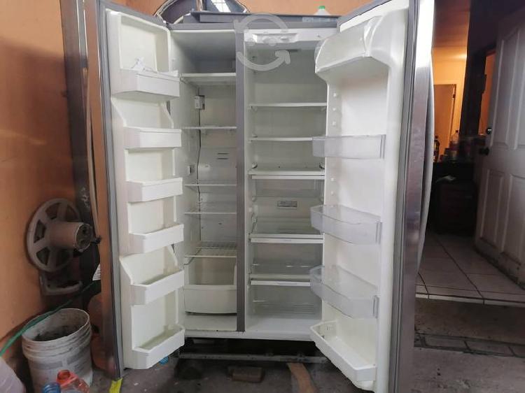 Refrigerador kenmore acero inoxidable