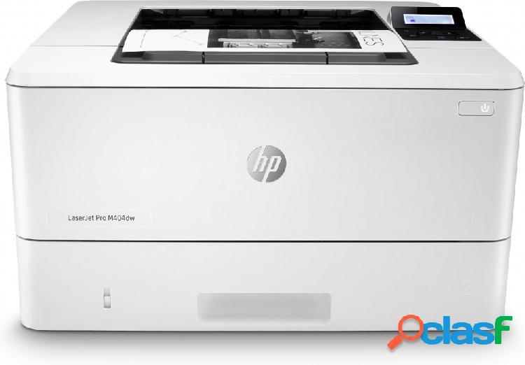 Hp laserjet pro m404dw, blanco y negro, láser, inalámbrico, print