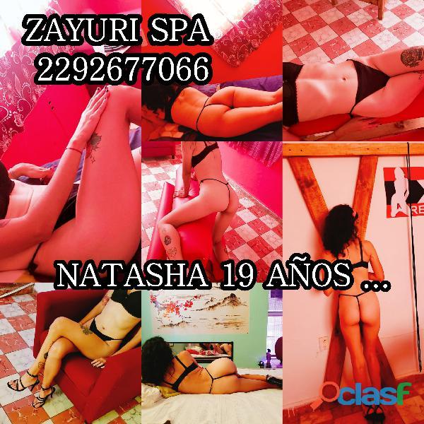 Natasha 19 años, chica nueva ven y conocela solo en ZAYURI SPA