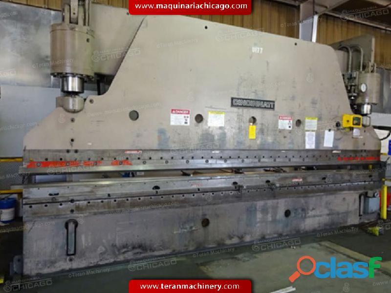 Prensa hidraulica CINCINNATI 20' x 300 ton en Venta