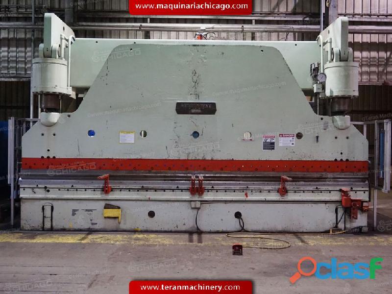 Prensa hidraulica CINCINNATI 20' x 500 ton en Venta