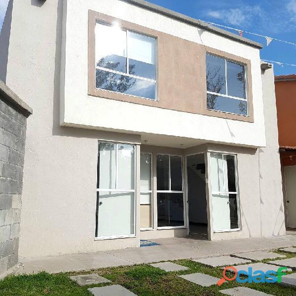 Casa en condominio en Zumpango