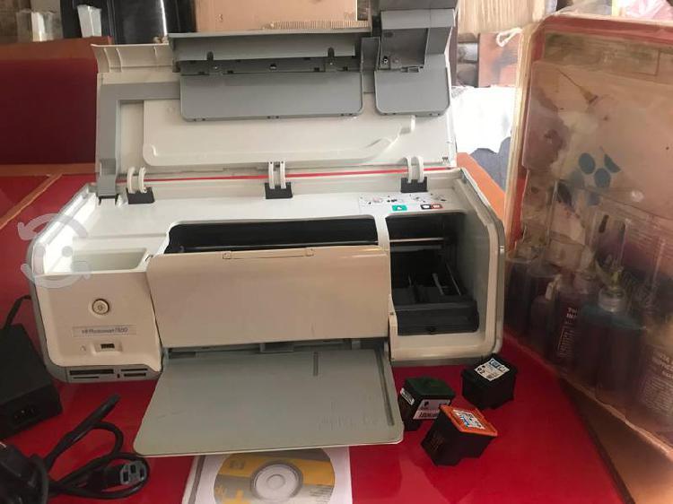 Impresora hp 7800 cartuchos