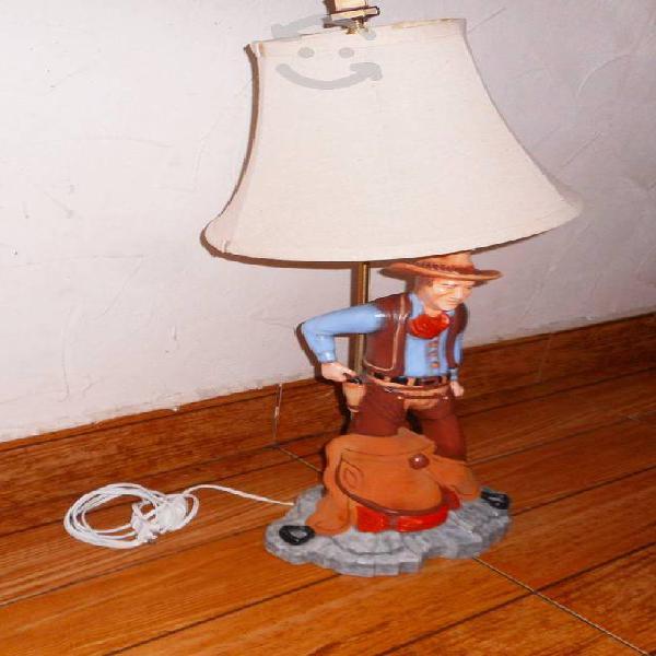 Figura escultura lampara de john wayne the cowboy