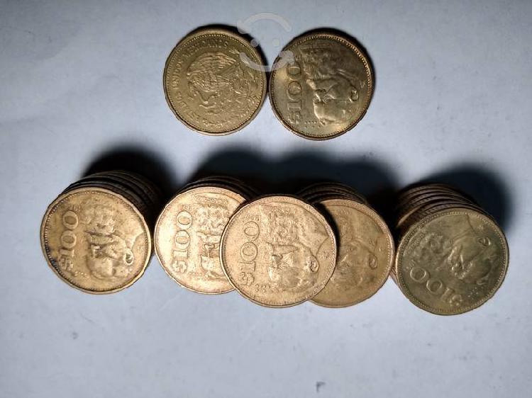 Monedas mexicanas antiguas de colección