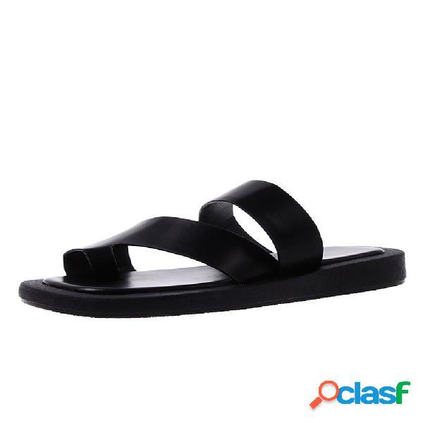Plataforma informal con punta de clip cómoda y cómoda para mujer zapatillas