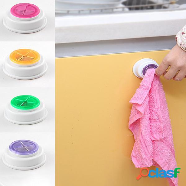 Clip para paño de cocina creative rag pequeño clip toalla gancho pvc plástico viscosa lavado toalla rejilla de secado