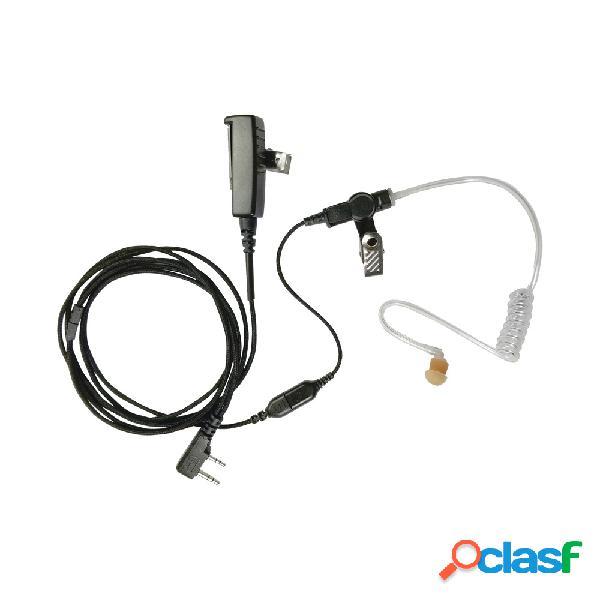 Pryme cable para micrófono para radio snp2w20bf, negro, para icom