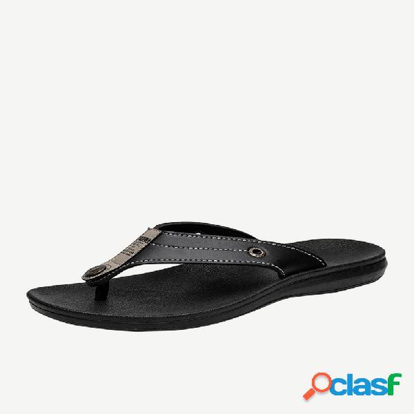 Chanclas para hombre al aire libre playa zapatos zapatillas