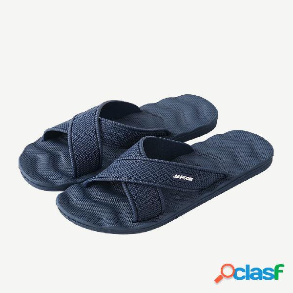 Hombre eva comfy open toe indoor home casual zapatillas