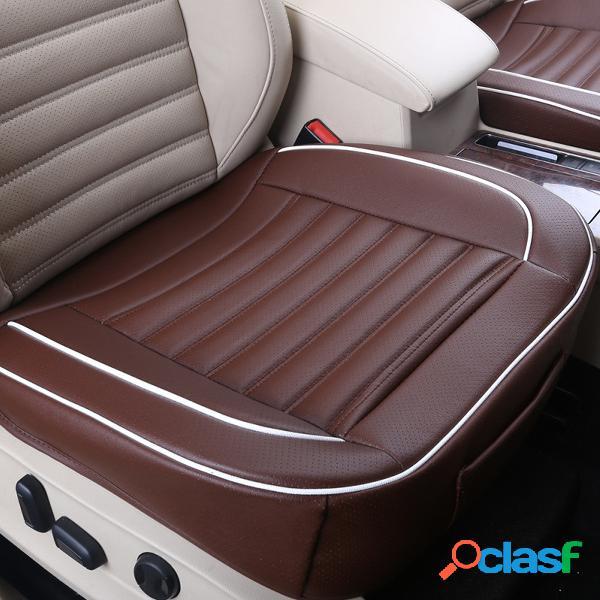 50x50cm pu cuero buckwhear shell relleno coche cojín silla coche funda de asiento auto interior pad mat