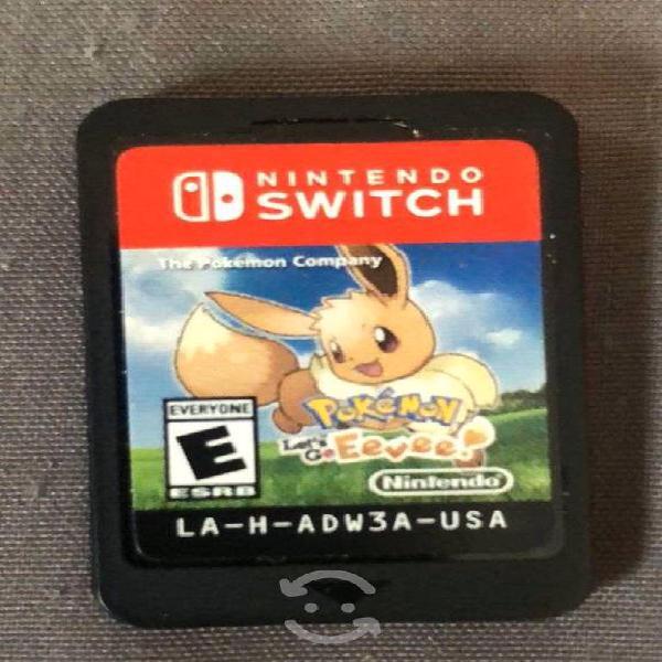 "Pokemon ""let's go eeve"" y pokemon ""shield"""