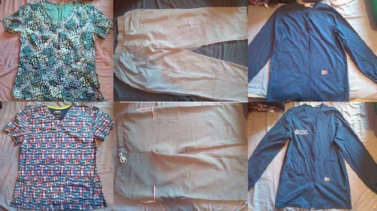 Lote uniforme de enfermería 15 piezas talla xch