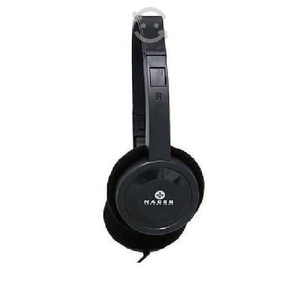 Audifono con microfono para pc na-0316 naceb techn