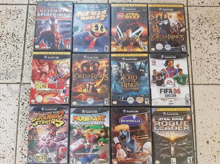 Game cube (juegos)