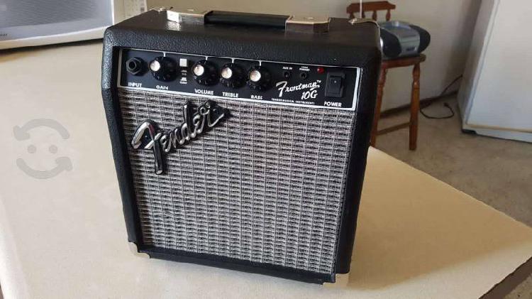 Amplificador guitarra fender 10g