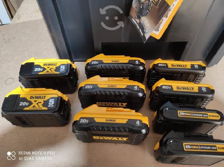 Baterías dewalt
