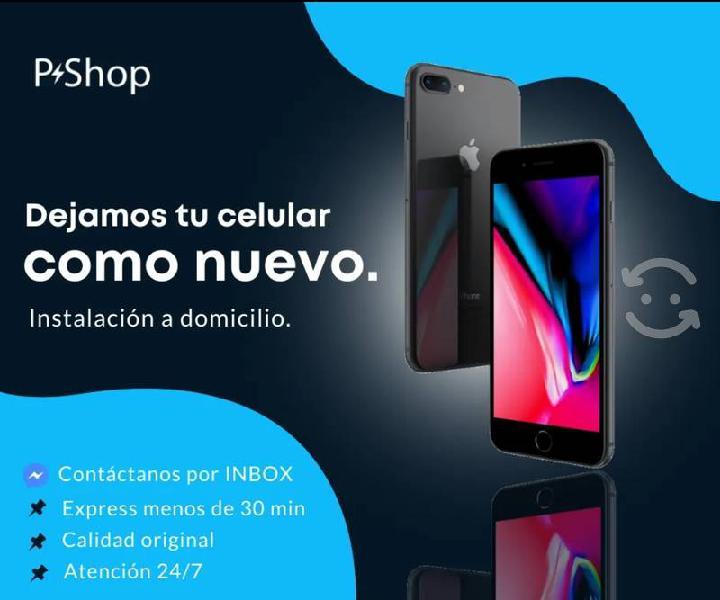 Pantalla iphone nueva!