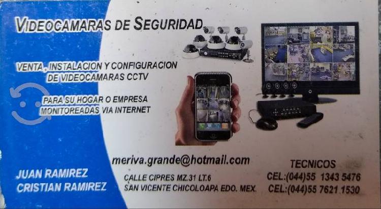 Cámaras de vídeo vigilancia venta e instalación