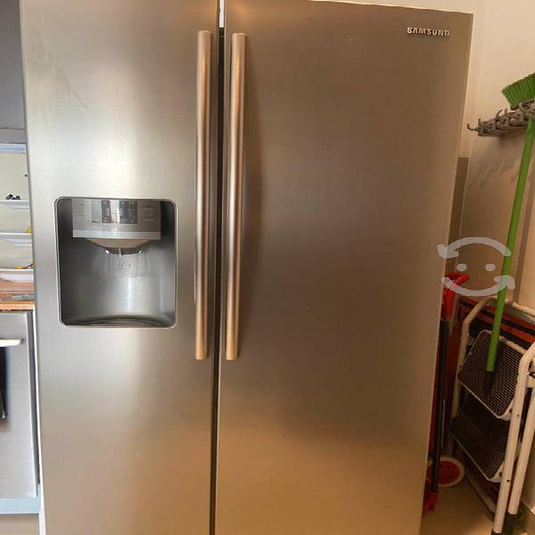 Amplio refrigerador duplex samsung