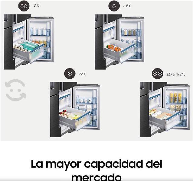 Refrigerador samsung chef collection 34