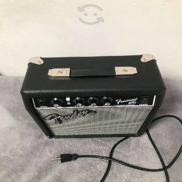 Amplificador fender para guitarra eléctrica