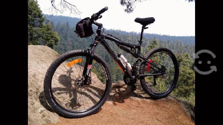 Bicicleta alubike smart de montaña 24 v/2ble susp.