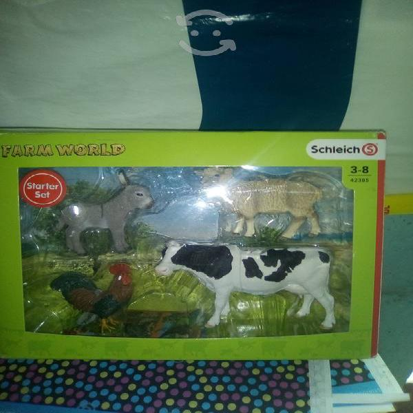 Set de granja animales realistas schleich