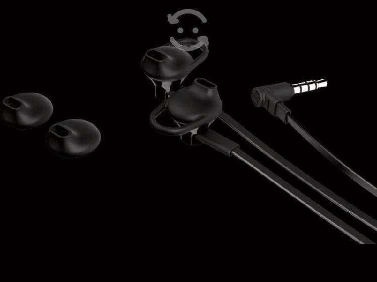 Audifonos hp 150 alámbricos 3.5 mm color negro