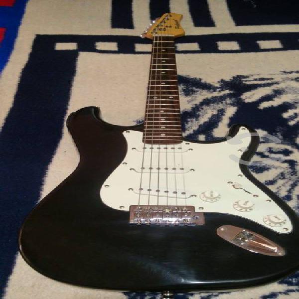 Guitarra electrica palmer con afinador