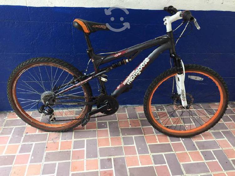Bicicleta aluminio mongoose componentes r26