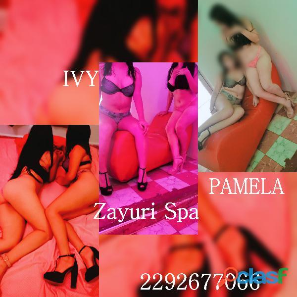 Ivy y Pamela chicas nuevas!! Ven y conocelas en Zayuri Spa ??