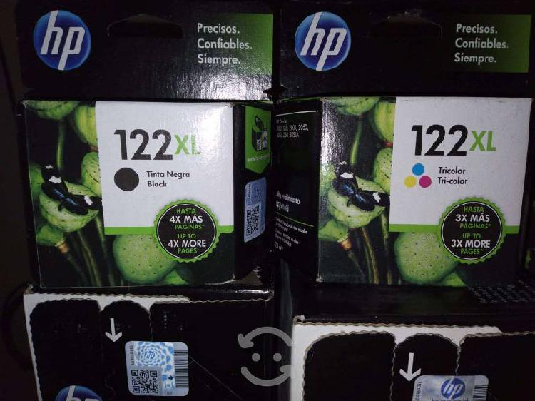 Cartuchos de tinta hp 122xl