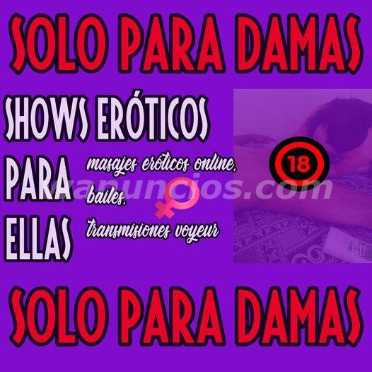 show de masaje erotico online SOLO PARA DAMAS MADURAS
