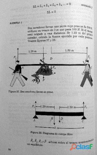Libro Física I, Estática, Cinemática y Dinámica, DGETI 1