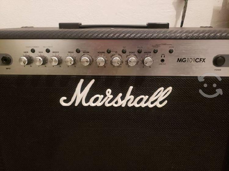 Amplificador marshall mg 101cfx