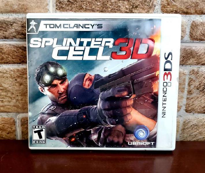 Juego Splinter cell 3ds