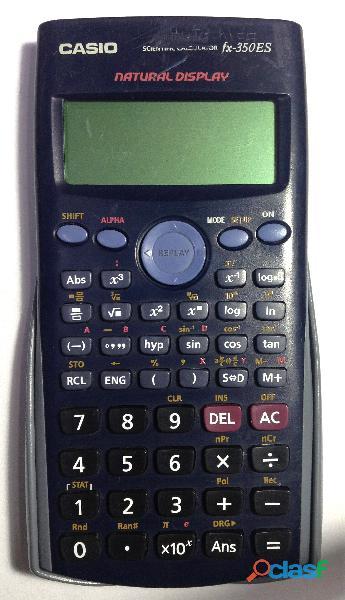 Calculadora Científica Casio fx 350 ES, 252 funciones