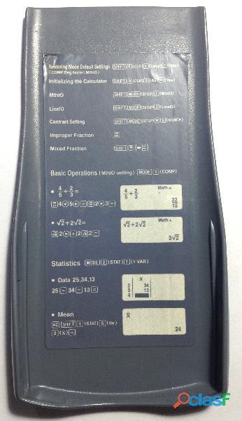 Calculadora Científica Casio fx 350 ES, 252 funciones 1