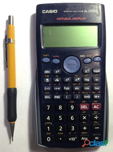 Calculadora Científica Casio fx 350 ES, 252 funciones 4