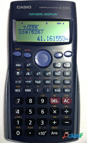 Calculadora científica casio fx 82 es