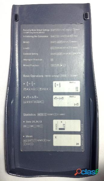 Calculadora Científica Casio fx 82 ES 3