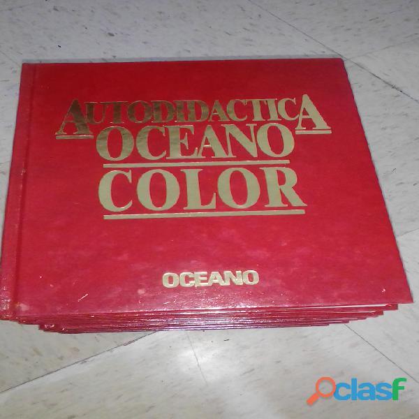 Enciclopedias océano para biblioteca