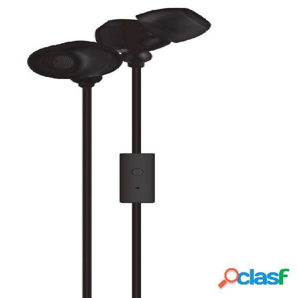 Maxell audífonos intrauriculares con micrófono 347364, alámbrico, 1.5 metros, 3.5mm, negro