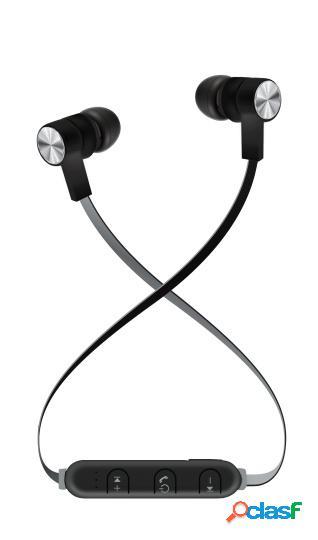 Maxell audífonos intrauriculares con micrófono bass 13 b13-eb2, inalámbrico, bluetooth, negro