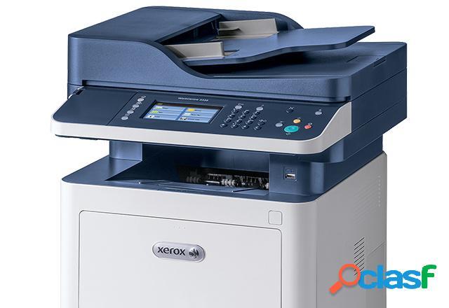 Multifuncional xerox workcentre 3345, blanco y negro, láser, inalámbrico, print/scan/copy