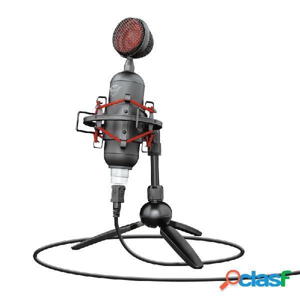 Trust micrófono gxt 244 buzz, alámbrico, 250 ohm