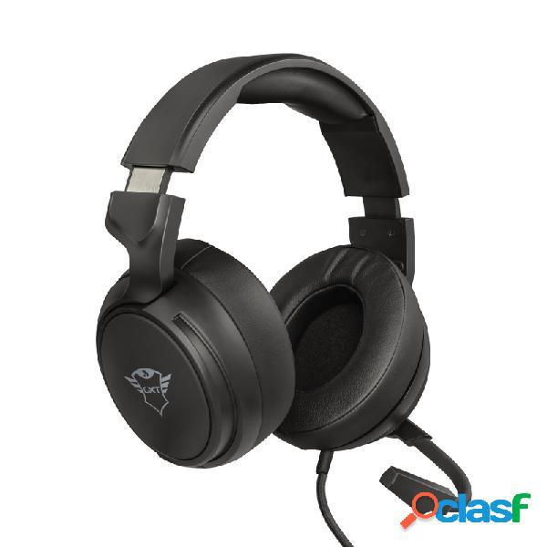 Trust audífonos gamer gxt 433 pylo para xbox one/xbox series x/s/ps4/ps5/nintendo switch, alámbrico, 1 metro, 3.5mm, negro